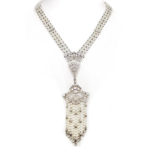 Cartier Edwardian Natural Pearl Necklace