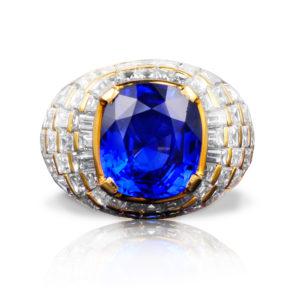 Bulgari Natural Ceylon Sapphire Ring