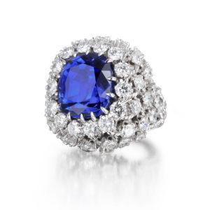 David Webb 21.39ct Natural Ceylon Sapphire Ring