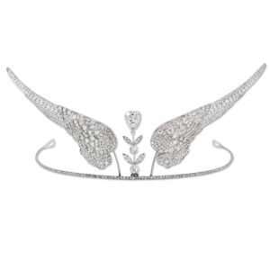 Art Deco Boucheron Diamond Wing Tiara